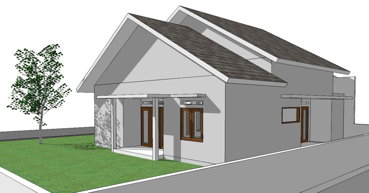 Gambar Desain Rumah Sederhana Tapi Modern Contoh Z