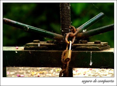 la cadena y el candado