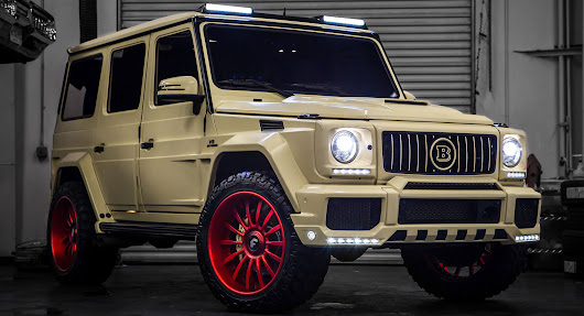 Brabus Tuned Mercedes G550 Looks Ready To Enter Military Service | Carscoops