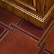 Malinard Manor - Leather FLoor Detail