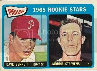 #521 Phillies Rookie Stars: Dave Bennett and Morrie Steevens
