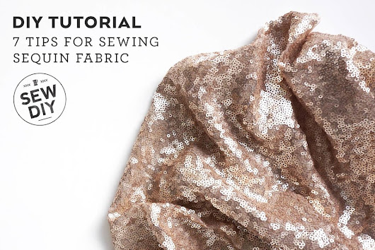 7 Tips for Sewing Sequin Fabric