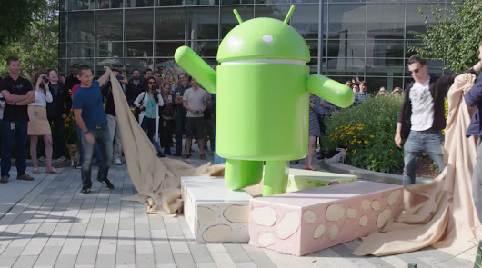 Google confirms Android Nougat's version number in new statue video