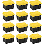 Sterilite 18319Y04 20 Gallon Plastic Storage Container Box with Lid (12 Pack) at Spreetail (VMinnovations   VM Express)