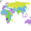 Emotion of countries mapped