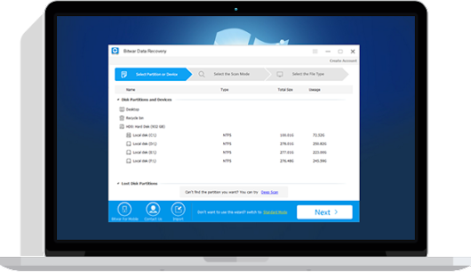 Bitwar Data Recovery Software | Free Download to Recover Data