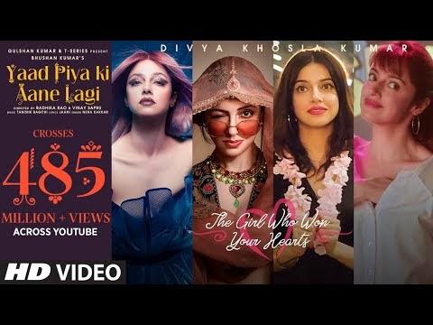 याद पिया की-Yaad Piya Ki Aane Lagi Song lyrics In Hindi-Divya Khosla Kumar