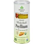 Organic India Whole Husk Psyllium - 12 oz canister
