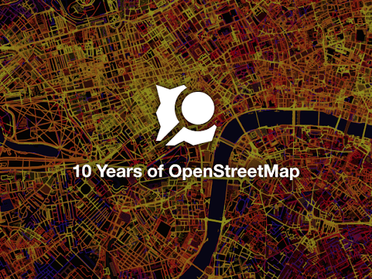 10 years of OpenStreetMap