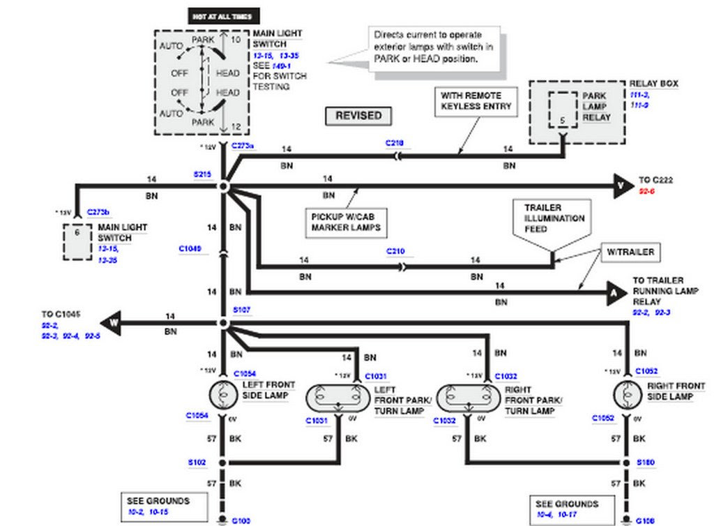 Ford E 350 Wiring Diagram For Light