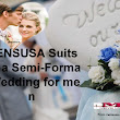 Mensusa suits for a semi formal wedding for men