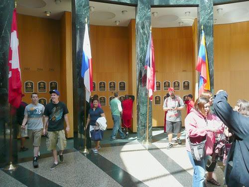 Baseball Hall of Fame by RV Bob