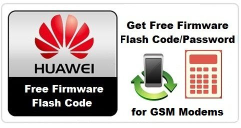 Huawei GSM Firmware Flash Code-Password