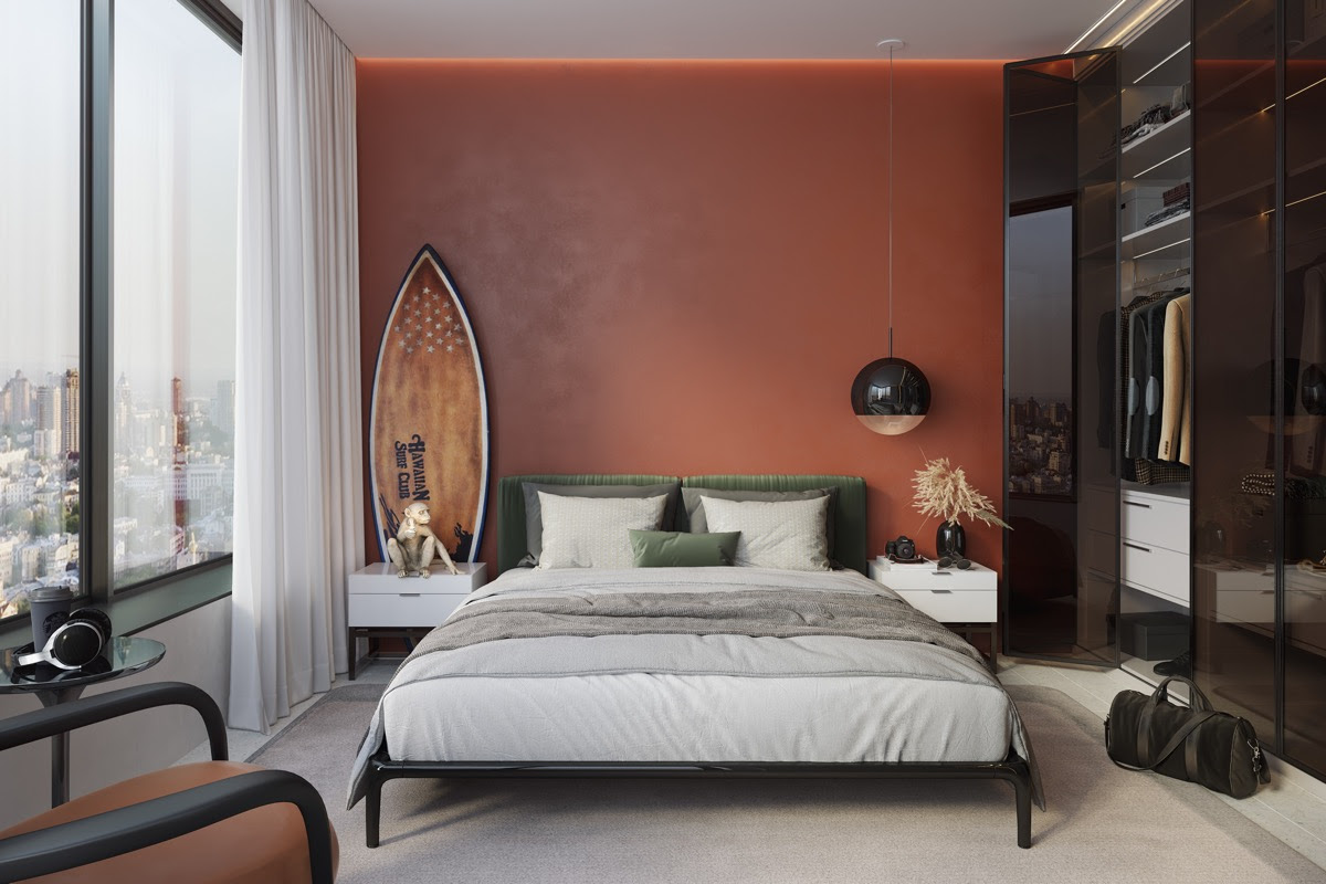 27 Red Bedrooms With Tips And Accessories To Help You Design Yours