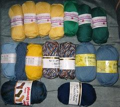 Sock Yarn Stash #1