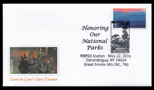 Sauron the Great's Smoky Mountain – collectpostmarks.com