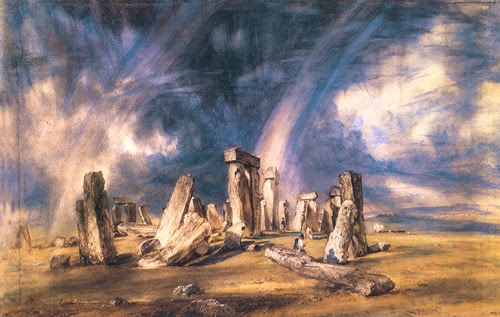'Stonehenge' by John Constable (from Wikimedia Commons)