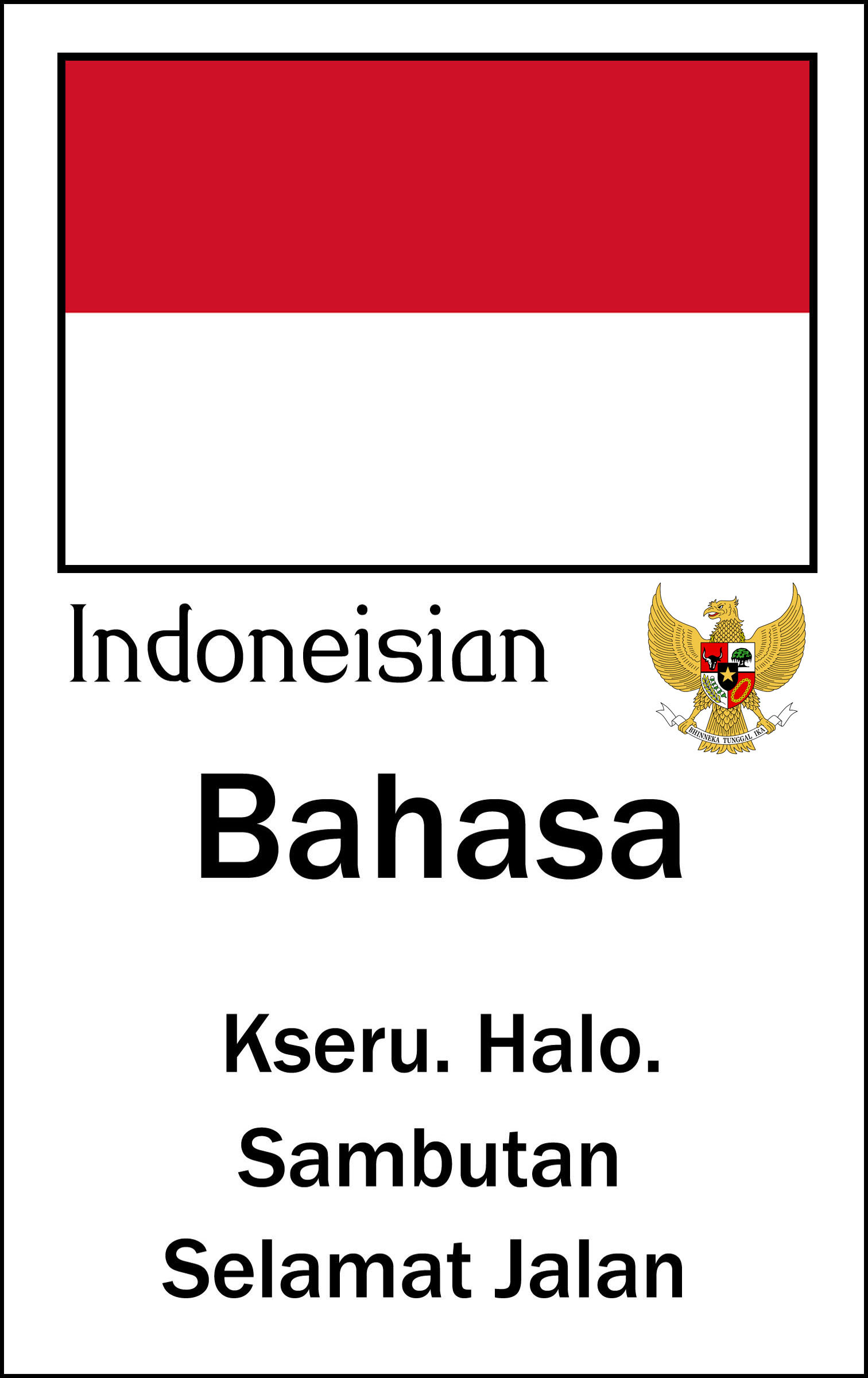 Indonesian  UA Critical Languages Center