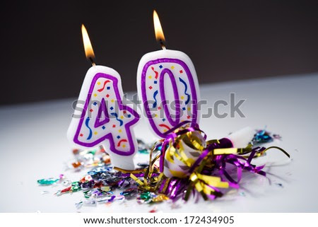 40th Birthday Stock Photos, Images, & Pictures   Shutterstock