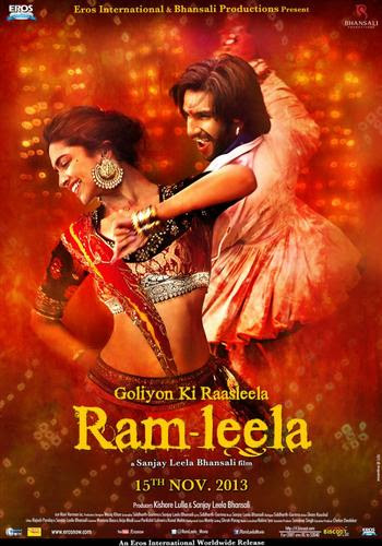 RamLeela 2013 Hindi 480P BRRip 450mb ESub, Goliyon ki rasleela RamLeela 2013 Hindi movie 480p BRRip bluray 300mb dvd 400MB free download or watch online at world4ufree.ws