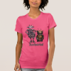 Two Cute Robots Funny T-shirt