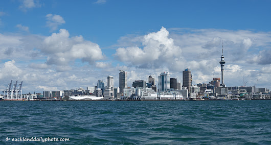 Auckland from the sea | Auckland Daily Photo