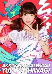 Kashiwagi Yuki 2016 AKB48 B2 calendar /