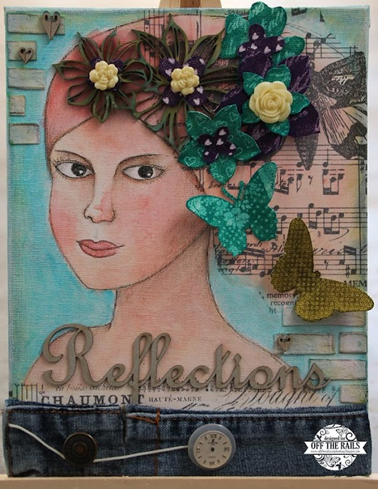 """Recycled"" - Off The Rails Scrapbooking"