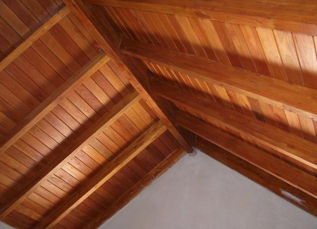 dormitorio muebles modernos techos de madera precios On maderas para techos precios