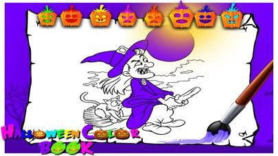 ハロウィンのぬりえ キッズゲームを描画ペイント Appsurfアプリ
