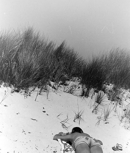 Carol - Scilly Isles beach 1977 by 35mm_photographs