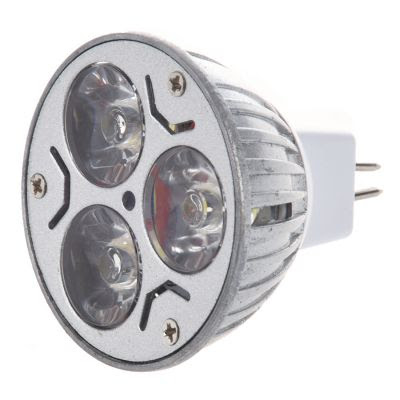 3x1 Watt 220 Volt Mr16 İğne ayak Led Spot