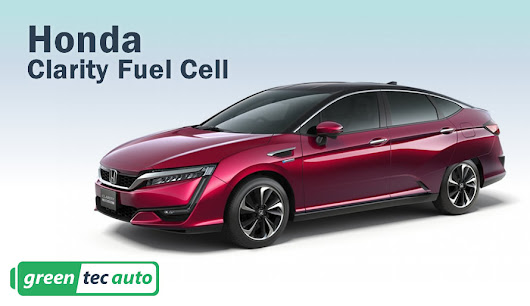 Honda Clarity Fuel Cell can power your entire house for a week.