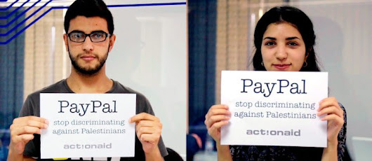 PayPal: Stop Discriminating Against Palestinians - ActionAid USA