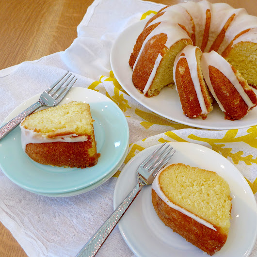 Lemon Buttermilk Pound Cake - Dig In With Dana