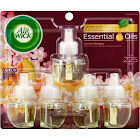 Air Wick Essential Oils Air Freshener Refills, Summer Delights - 5 pack, 0.67 fl oz each