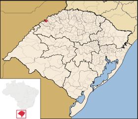 Localização de Porto Lucena