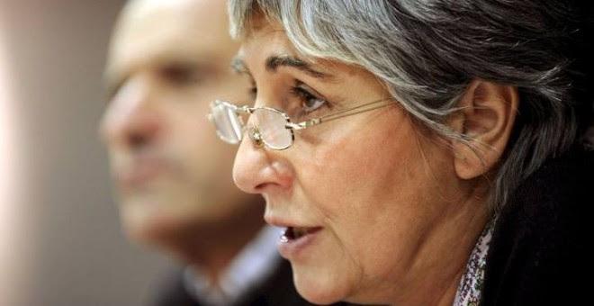 La periodista abertzale Amparo Lasheras.-EFE