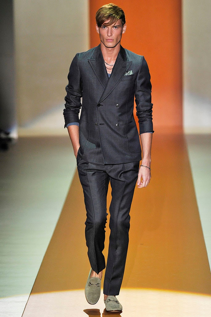 gucci spring 2011 menswear collection  vogue