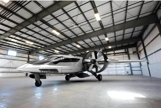 Crowdfunding campaign launches to fund vertical takeoff biz jet