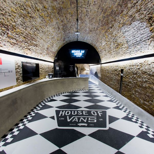 House Of Vans- A Skatepark Located Under London Waterloo Station
