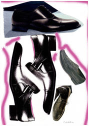 Shoe Research for Male Collection