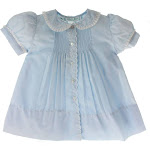 Feltman Brothers| Newborn Girls Blue Dress & Slip Take Home Outfit