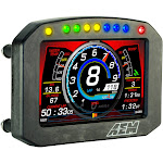 AEM CD-5 Carbon Flat Panel Digital Racing Dash Display - Non-Logging / Non-GPS 30-5600F
