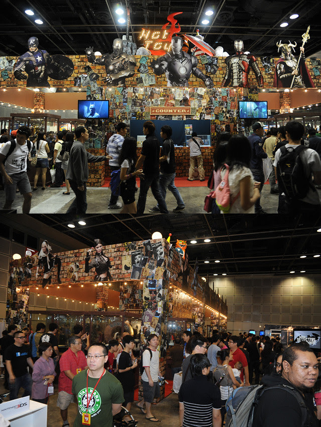 Hot Toys Booth