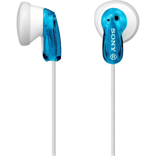 Sony MDR-E9LP Earbud Headphones - Blue