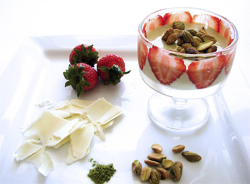 green tea white chocolate mousse recipe