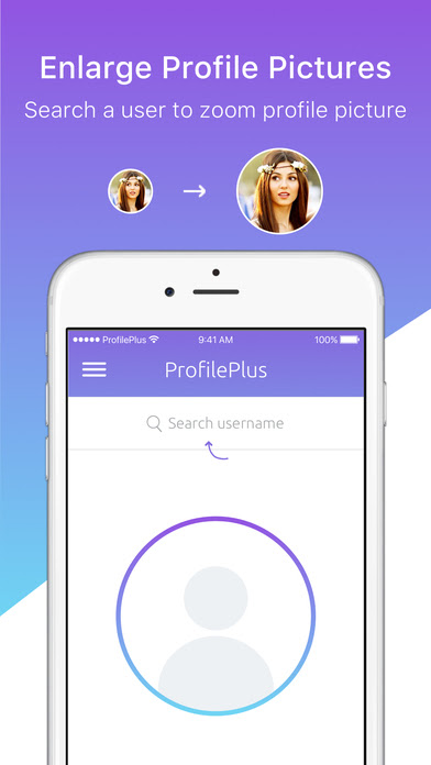 App Shopper: Zoom Profile Pictures for Instagram ...