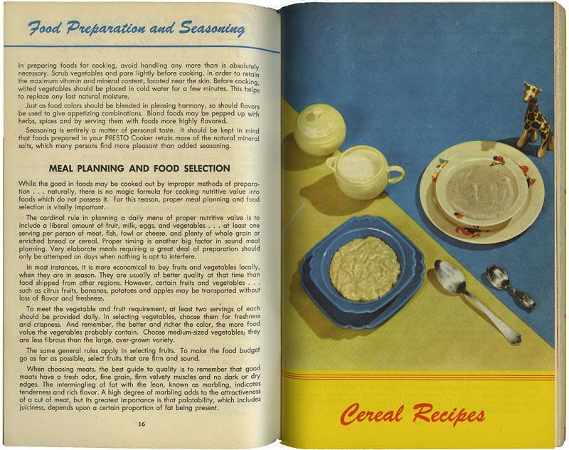 Presto cooker_cereal_tatteredandlost