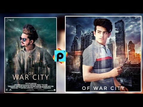 PicsArt OF WAR CITY Editing | Creative Manipulation Editing In Picsart-Ak Editz